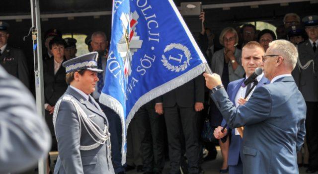 Nowosolska policja ma już swój sztandar