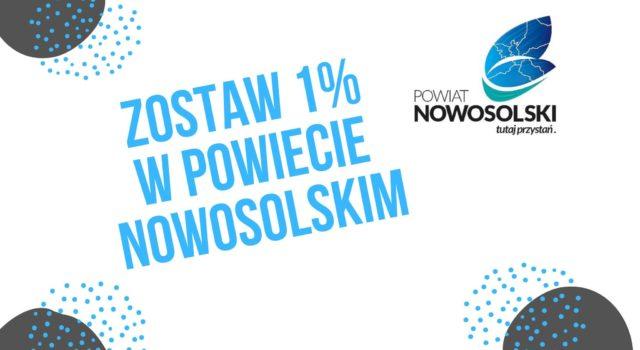 Zostaw 1% wPowiecie Nowosolskim