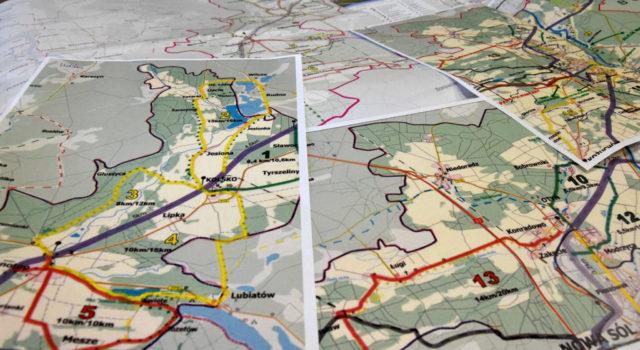 Kolej narower – znaszą mapą będzie ciekawiej