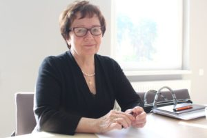 Bożena Osińska, dyrektor szpitala