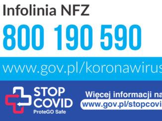 infolinia NFZ 800 190 590