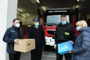 Środki ochrony osobistej rafiły m. in. doOSP wKożuchowie