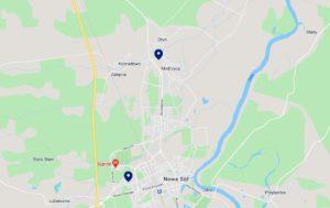 Mapę zoznaczonymi mobilnymi punktami badań naCOVID-19 można znaleźć nastronie www.pacjent.gov.pl