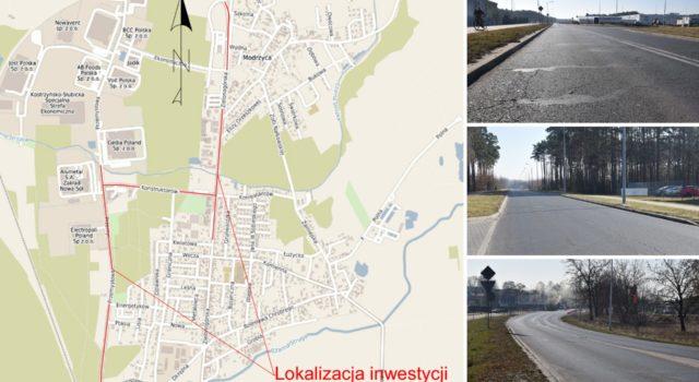 Kto przebuduje 3 powiatowe drogi wNowej Soli?