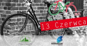 Rower natle ceglanego muru - zaproszenie naIII Święto Roweru