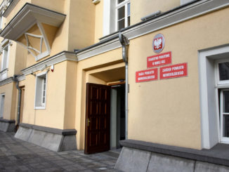 Wejście do Starostwa