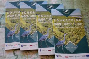 Mapy edukacyjno-turystyczne Nadleśnictwa Sława Śląska