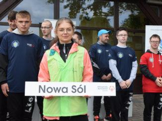 Reprezentanci Nowej Soli na regatach Olipiad Specjalnych